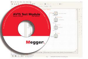 MEGGER AVTS Advanced Visual Test Software