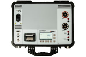 MEGGER MJOLNER 600 Micro-Ohmmeter with DualGround Safety