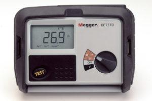MEGGER DET3TD Earth Electrode Resistance Tester