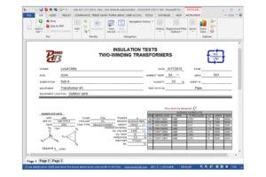 MEGGER PowerDB Pro Acceptance and Maintenance Test Data Management Software