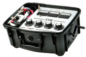 MEGGER TTR 5000 5B Single Phase Hand Cranked Transformer Turns Ratio Tester