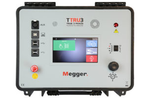 MEGGER TTRU3 True 3 Phase Transformer Turns Ratio Meter